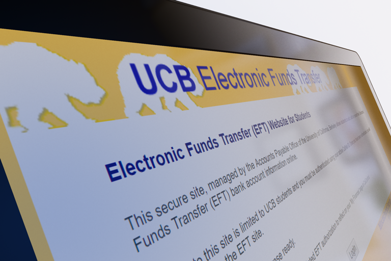 Electronic Funds Transfer (EFT) Website for Students